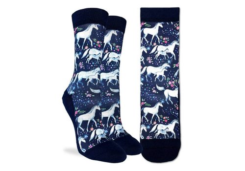 Good Luck Sock Women's Unicorn Family Socks