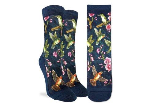 Good Luck Sock Women's Hummingbird Socks