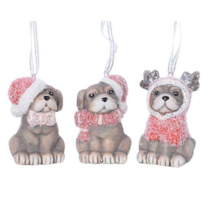 Terracotta Dog With Hanger