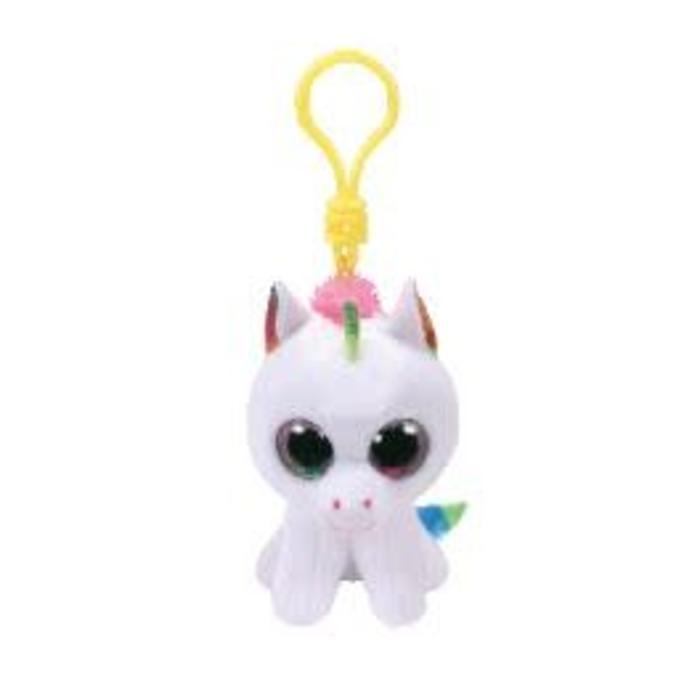 Pixie White Unicorn Clip