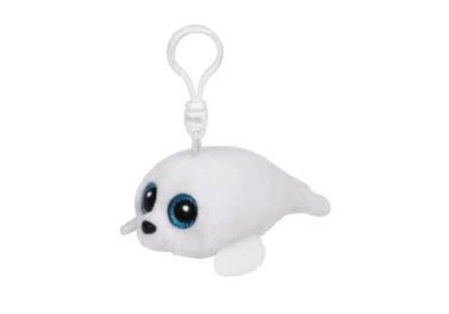 Ty Icy White Seal Clip