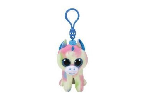 Ty Blitz Blue Unicorn Clip