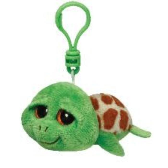 Zippy Green Turtle Clip