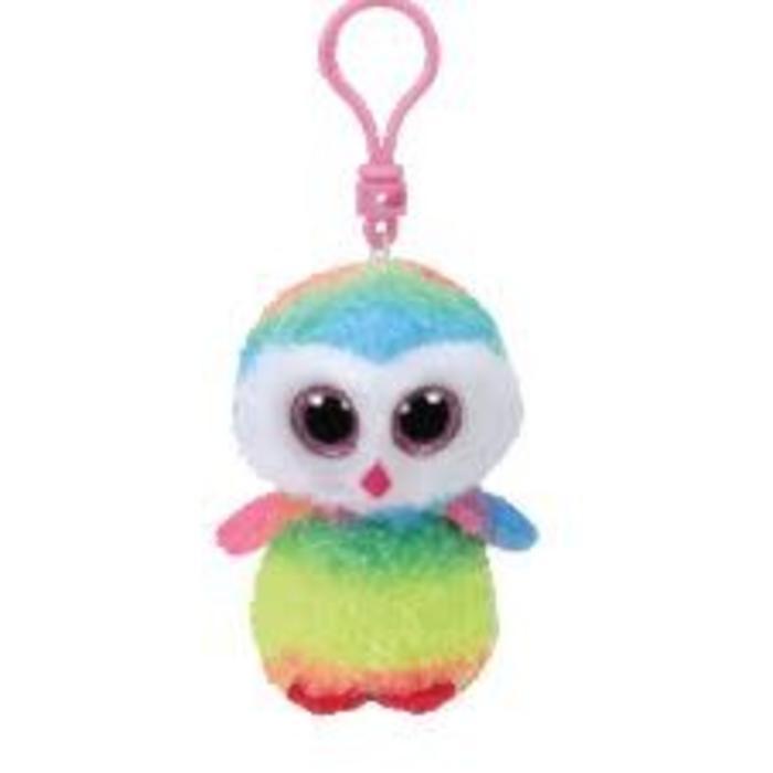 Owen Multicolor Owl Clip