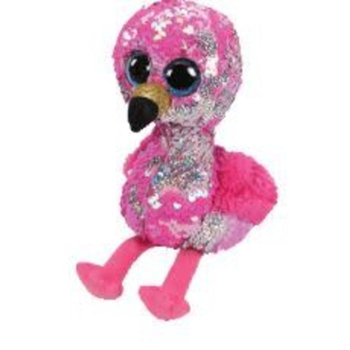 Pinky Sequin Flamingo