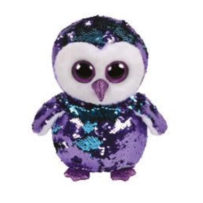 Moonlight Purple Sequin Owl
