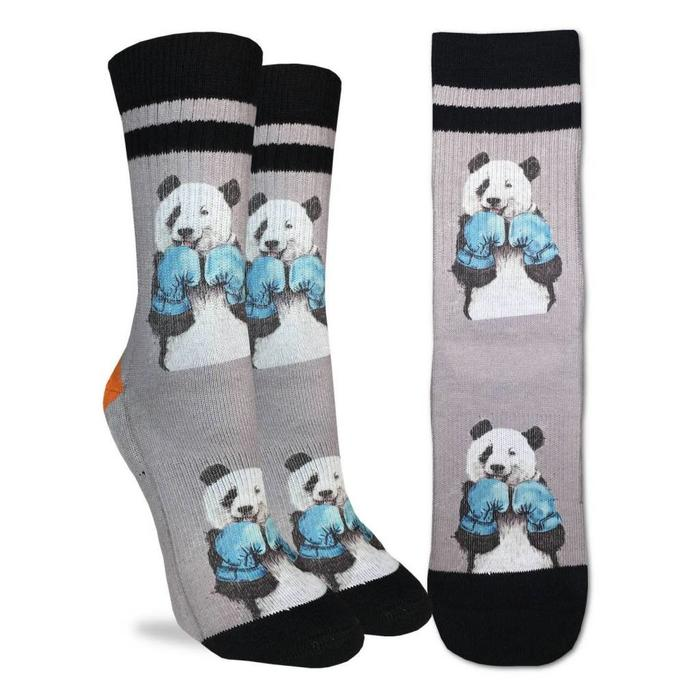 Women's Boxing Panda Socks