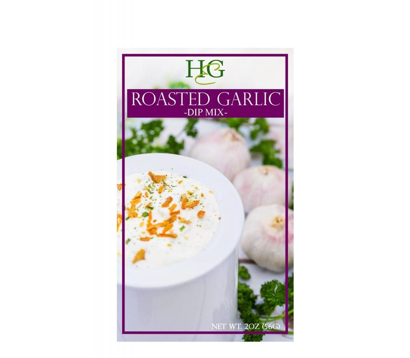 Home & Garden Roasted Garlic Dip
