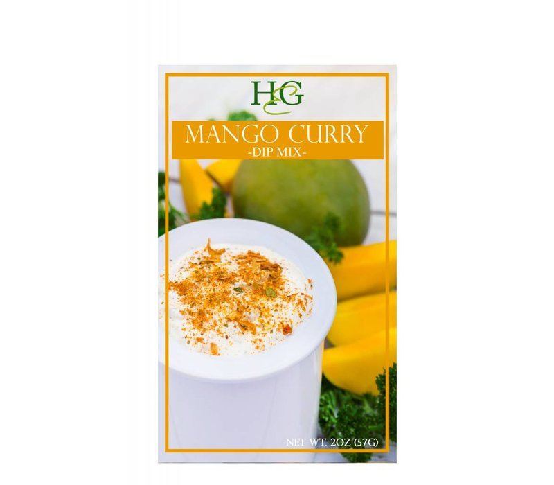 Home & Garden Mango Curry Dip