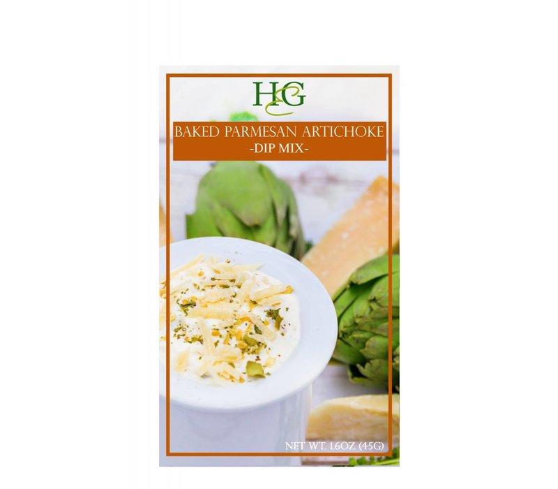 Home & Garden Baked Parmesan Artichoke Dip