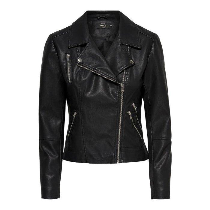 Miley Faux Leather Biker Jacket