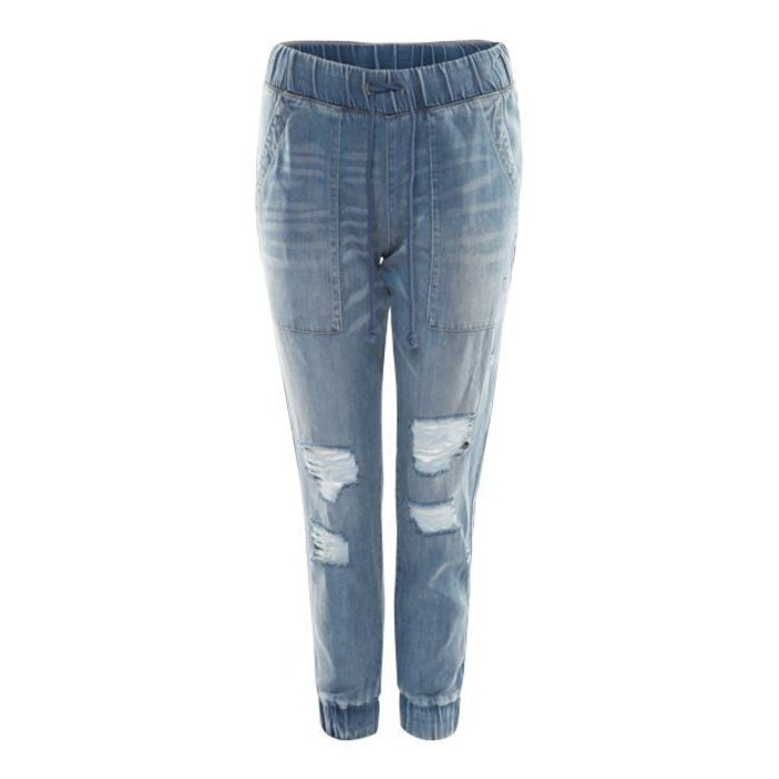 Washed Out Ripped Jogger