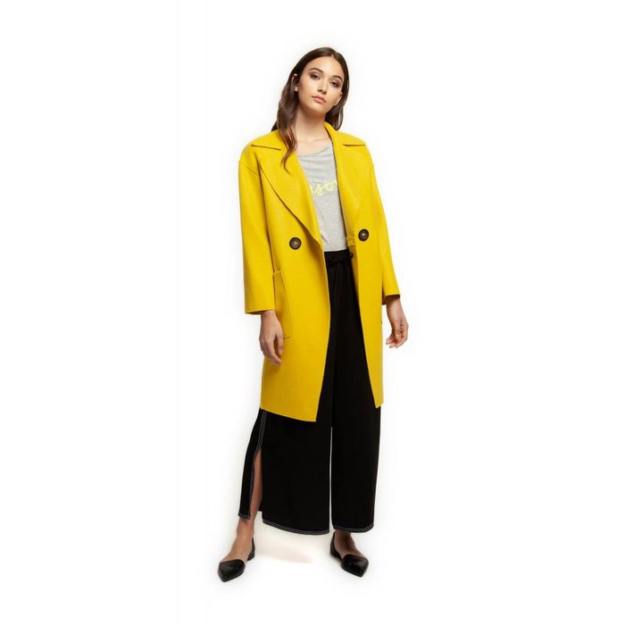 Coat With Patch Pockets