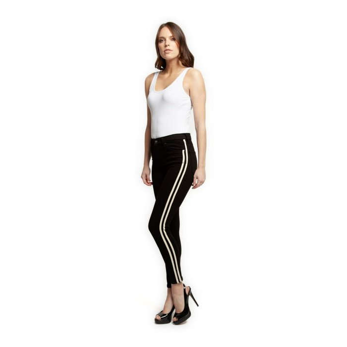 Athletic Side Tape Skinny Jean