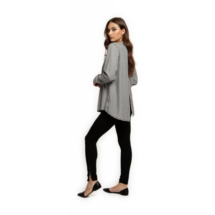 Blouse With Armhole Slit