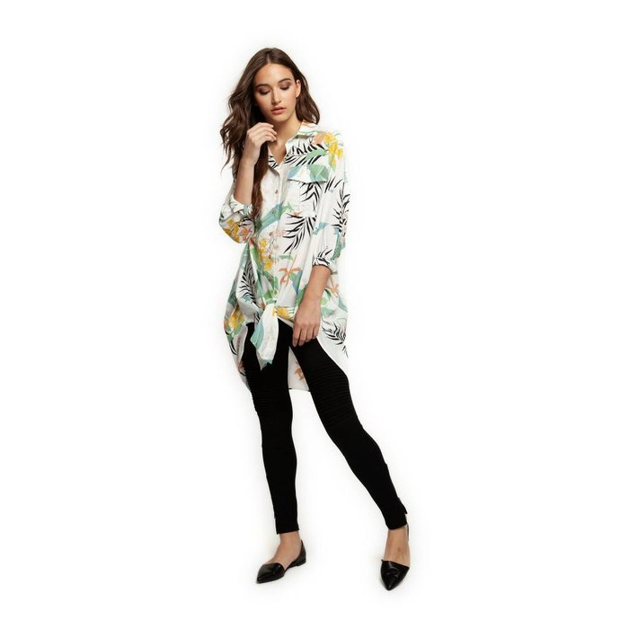 Tropical Oversized Blouse