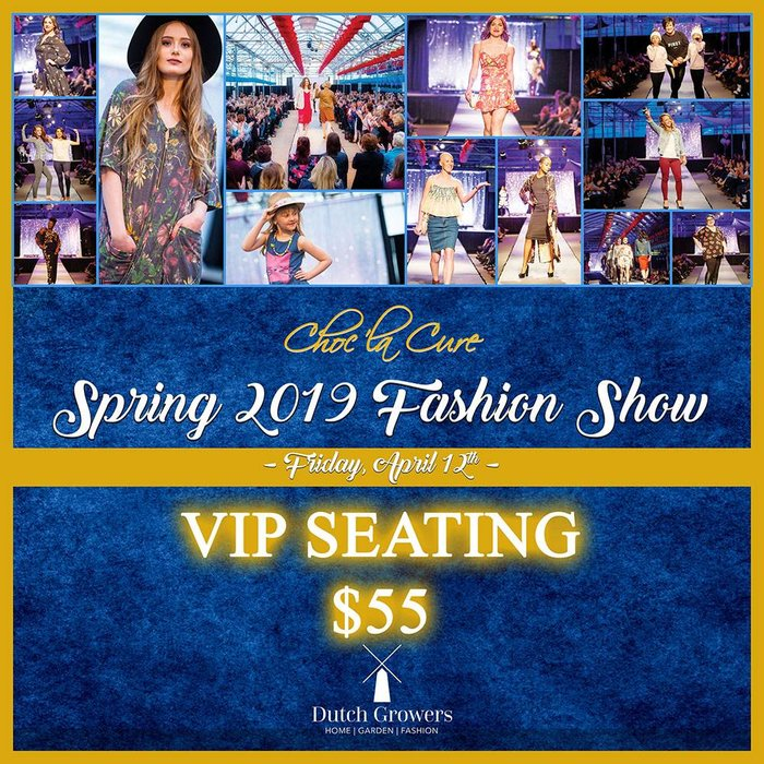 Spring Fashion Show VIP April 12