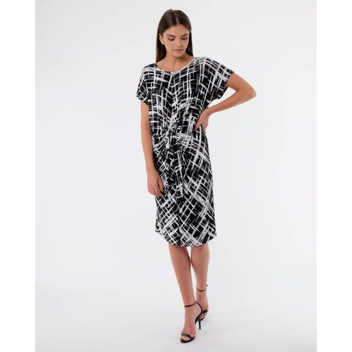Dress With Knotted Front