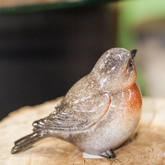 Dark Grey Bird 11 x 6 x 9.5cm