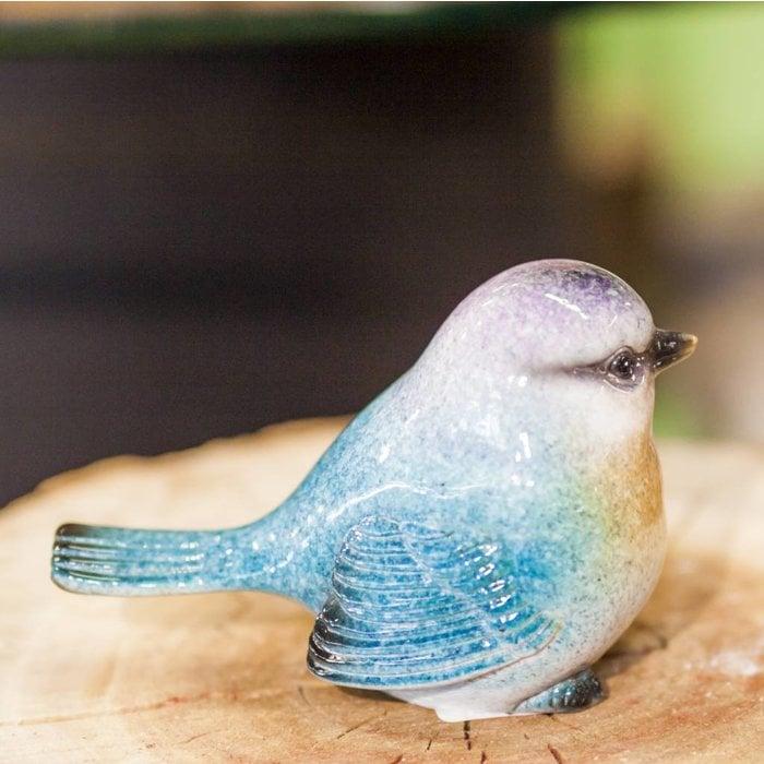 Blue Bird 12 x 6 x 8cm