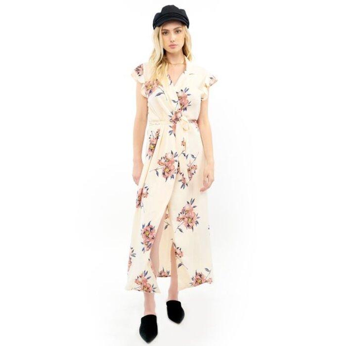 Maxi Wrap Dress With Belt