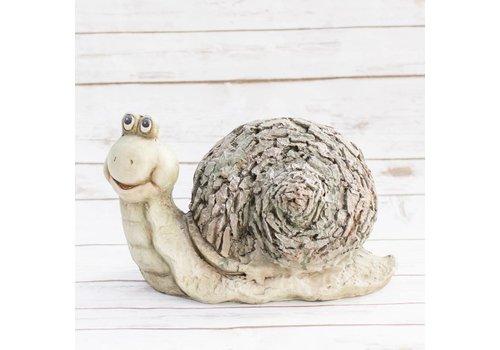 #49-19 Animal Pots & Pot Heads Snail Decor Small 34 x 17 x 21cm