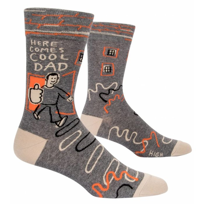 Here Comes Cool Dad Men's Sock