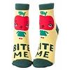 Blue Q Bite Me Ankle Socks