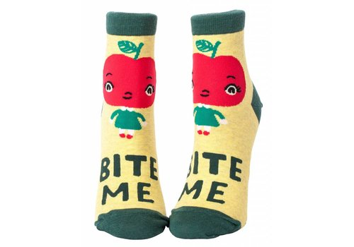 Blue Q Bite Me Ankle Socks