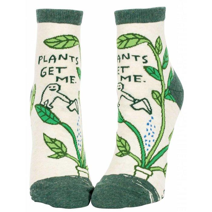 Plants Get Me Ankle Socks