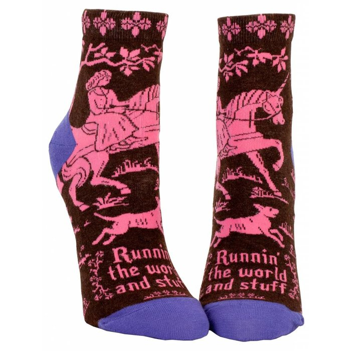 Running the World Ankle Sock