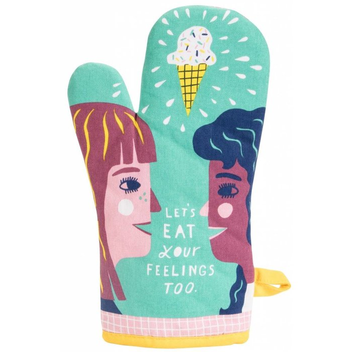 Oven Mitt Let's Eat Your Feelings