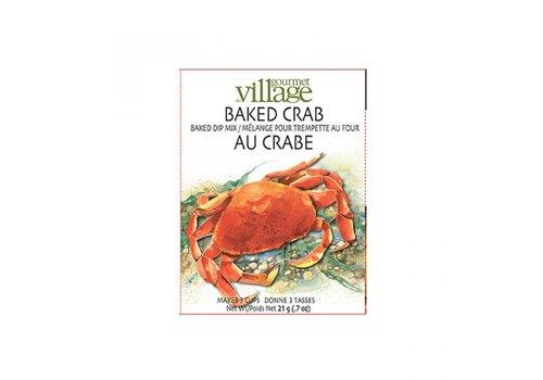 Gourmet Du Village Dip Recipe Box Crab
