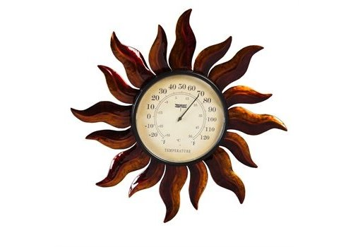Evergreen Sun Outdoor Wall Thermometer