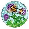 """Evergreen Birdbath Busy Bee Days 18"""""""