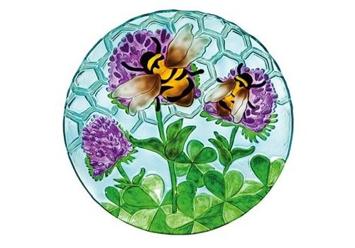 Evergreen Birdbath Busy Bee Days 18""