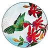 "Evergreen Birdbath Hummingbird Flutter 18"""