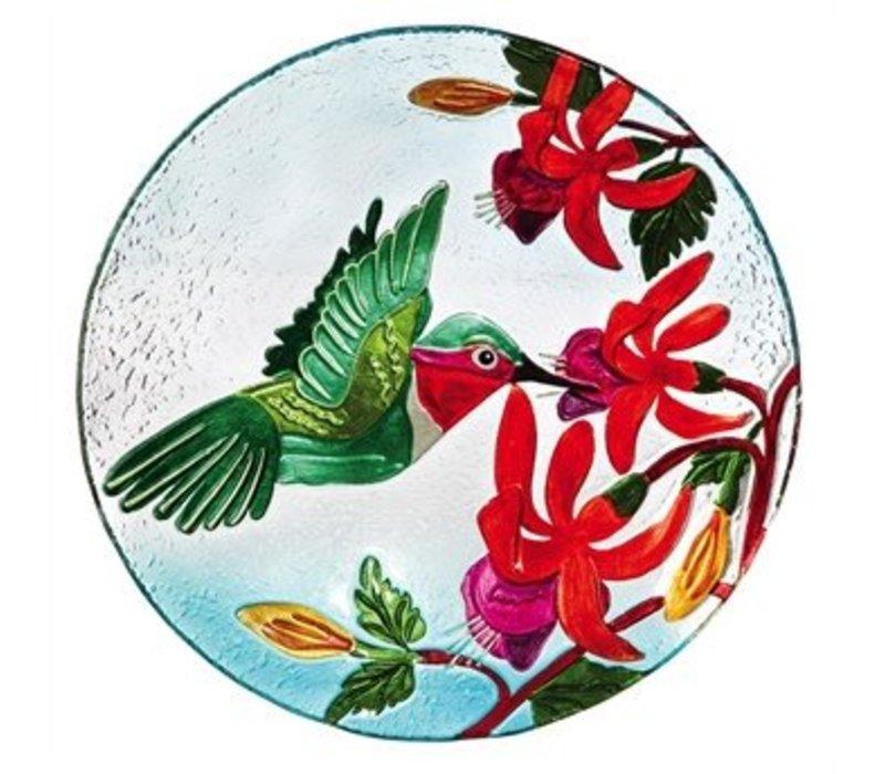 """Birdbath Hummingbird Flutter 18"""""""