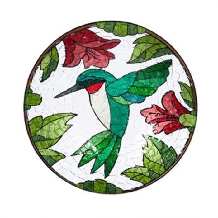 """Birdbath Hummingbird 18"""""""