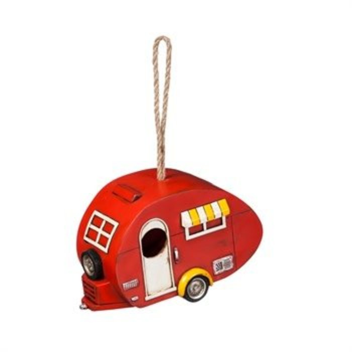 Red Camper Birdhouse