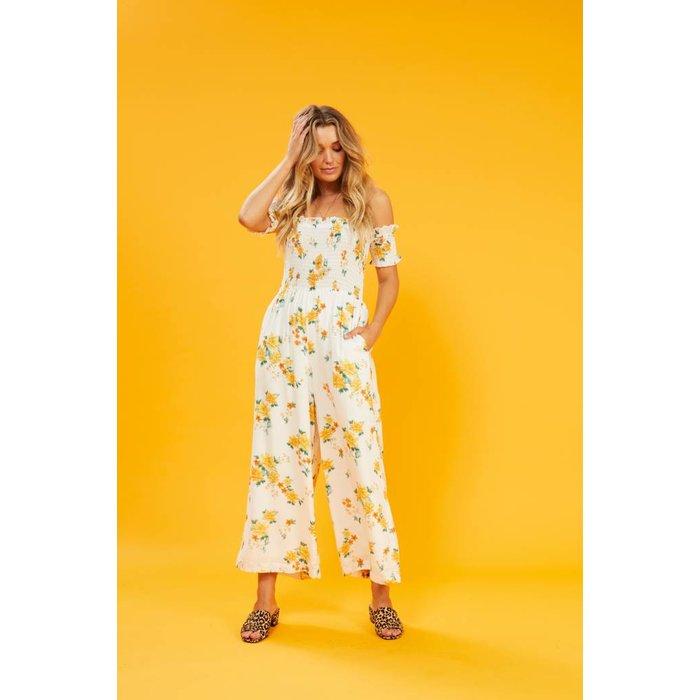 Lemon Bloom Jumpsuit