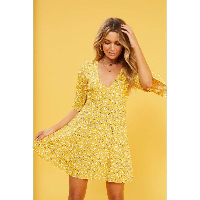 Summer Daisy Tea Dress
