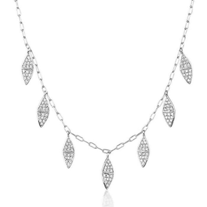 Chloe Mini Fringe Necklace