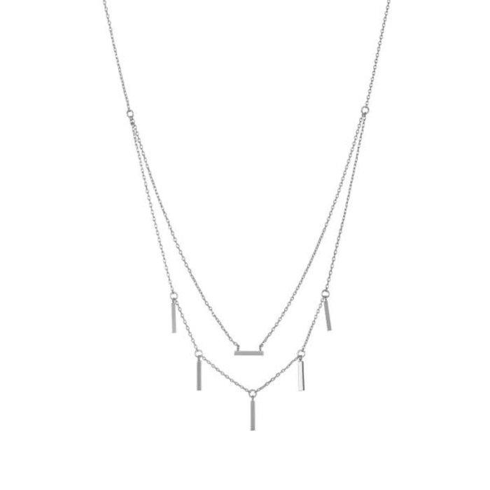 Double Sticks Necklace