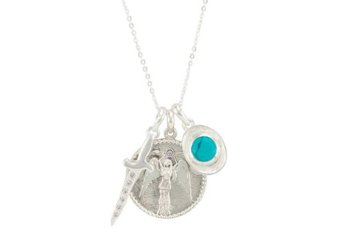 Melinda Maria Goddess of Strength Necklace