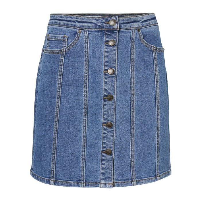Soraya Button A Shaped Skirt
