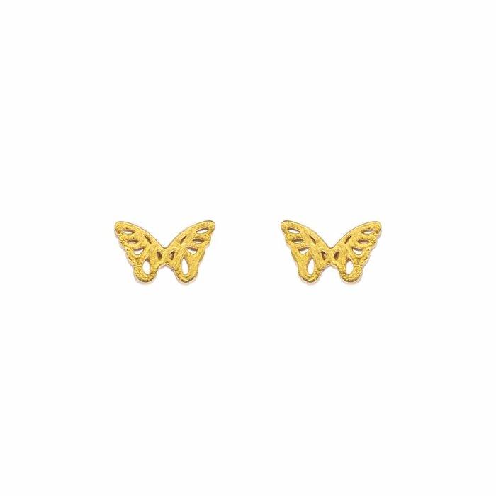 Mini Metal Stud Butterfly