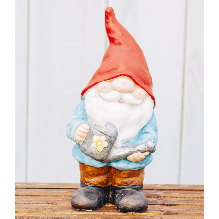 Gnome With Watering Can 42 x 41 x 45cm