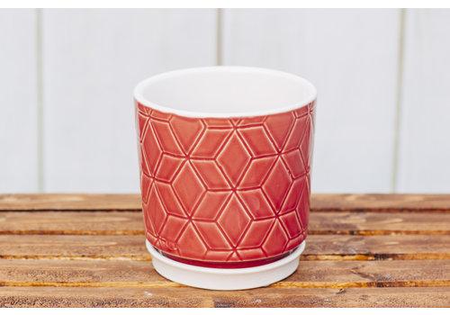 Crackle Glaze Pot