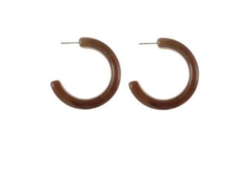 Lisbeth Jewelry Acrylic Hoops Saville Medium